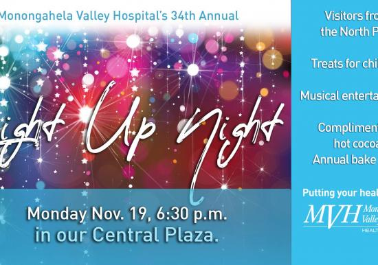 MVH Light up Night November 19th 6:30 PM