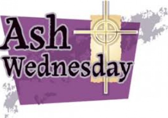 Ash Wednesday is February 26th Slideshow