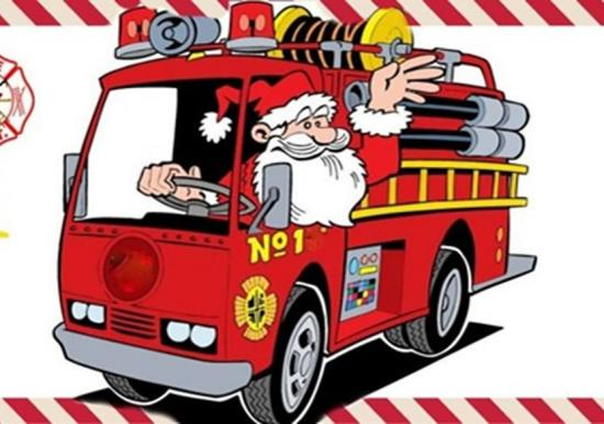 Carroll Twp Fire Dept will be Brining Santa around Dec 20th & 21st